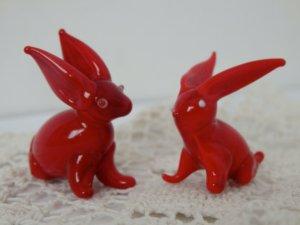 Red Glass Rabbit