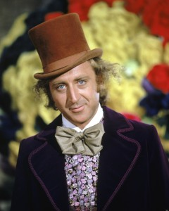 Gene Wilder as Willy Wonka in 'Willy Wonka & The Chocolate Factory'